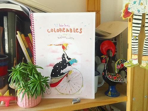 Cuaderno Láminas Coloreables Naiara