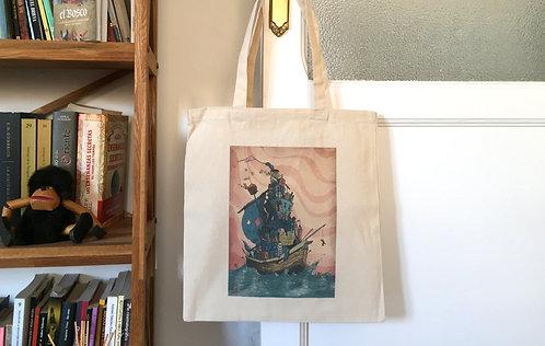 Tote Bag A la deriva del progreso