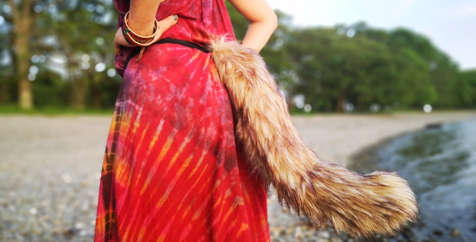 Luxury Wolf Tail