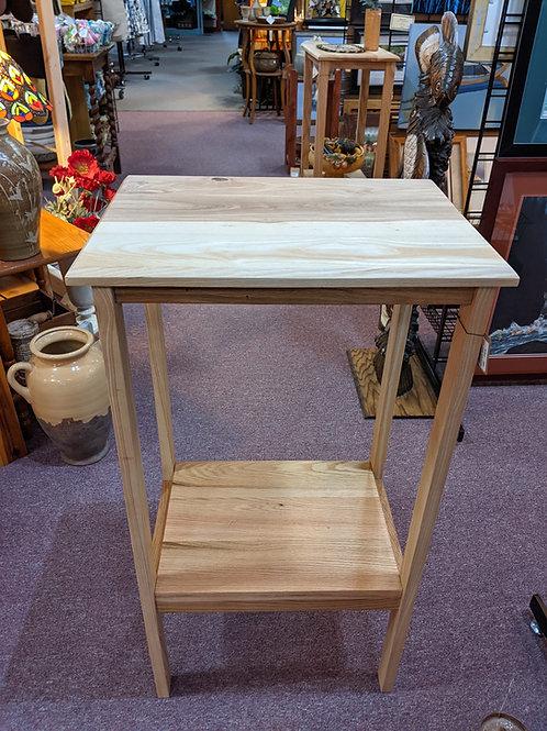 Oak/Hickory Table w/Shelf