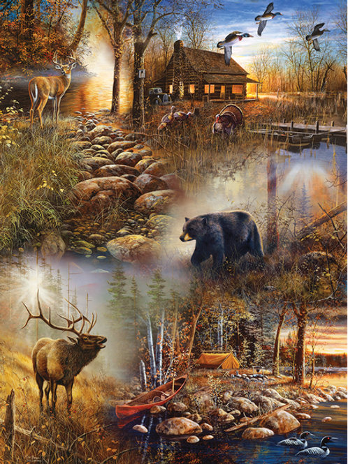 Forest Collage Puzzle