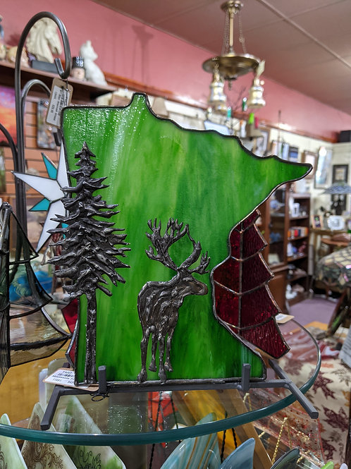 MN Moose w/Pine