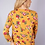 Thumbnail: Mustard Floral 3/4 Long Sleeve
