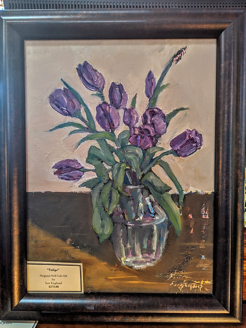 Tulips  Oil Painting by Lee Englund