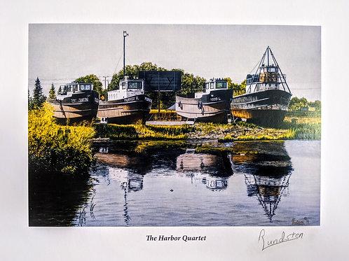 The Harbor Quartet by Rick Lundsten