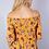 Thumbnail: Off Shoulder Shirred Floral Top