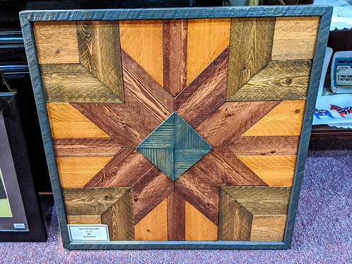 Barn Wood Star Quilt