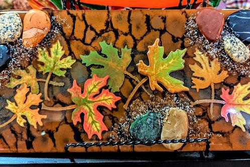 Floating Leaves Platter