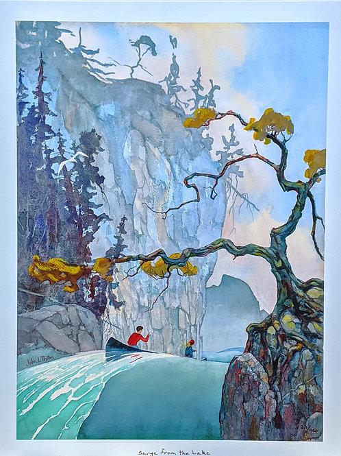 Surge from the Lake by John L. Peyton