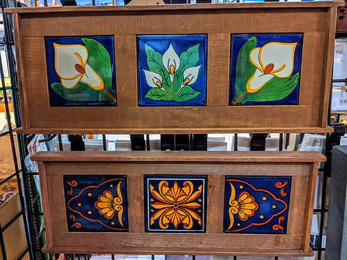 Framed Tile Wallhanging