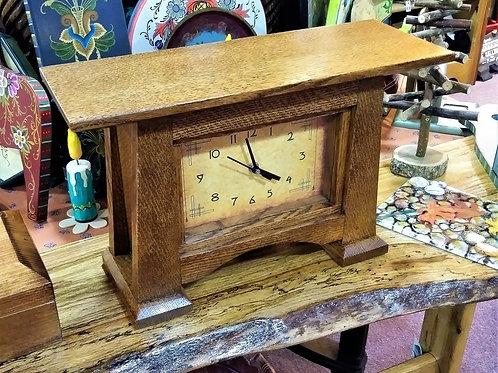 Oak Mission Clock