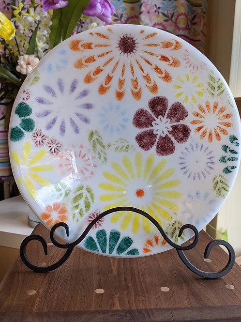 Summer Floral Bowl