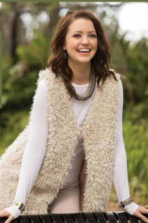 Faux Lamb Fur Vest
