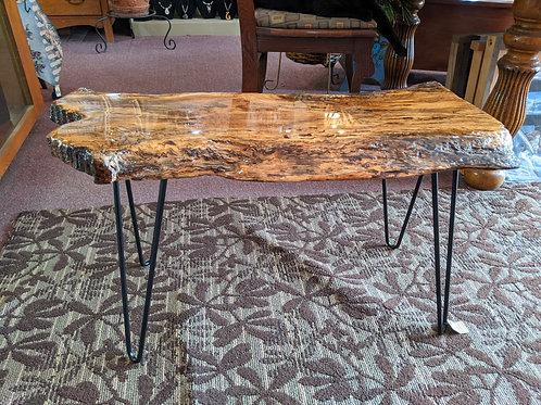 Raw Edge Console Table