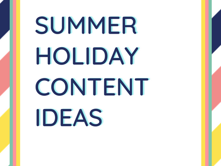 Help it's the summer holidays - what shall I post?