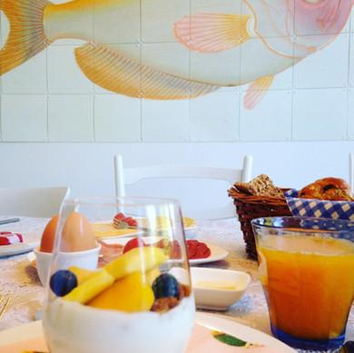 Kleurrijk ontbijt