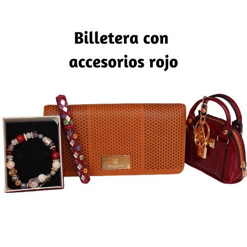 Kit billetera + accesorios