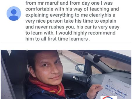 Driving test success