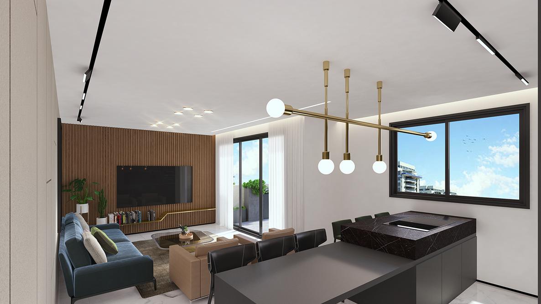 דירת 4 חדרים - קומה 4