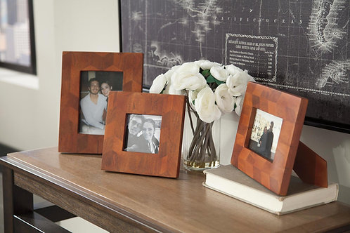 Kabecka set of 3 photo frames