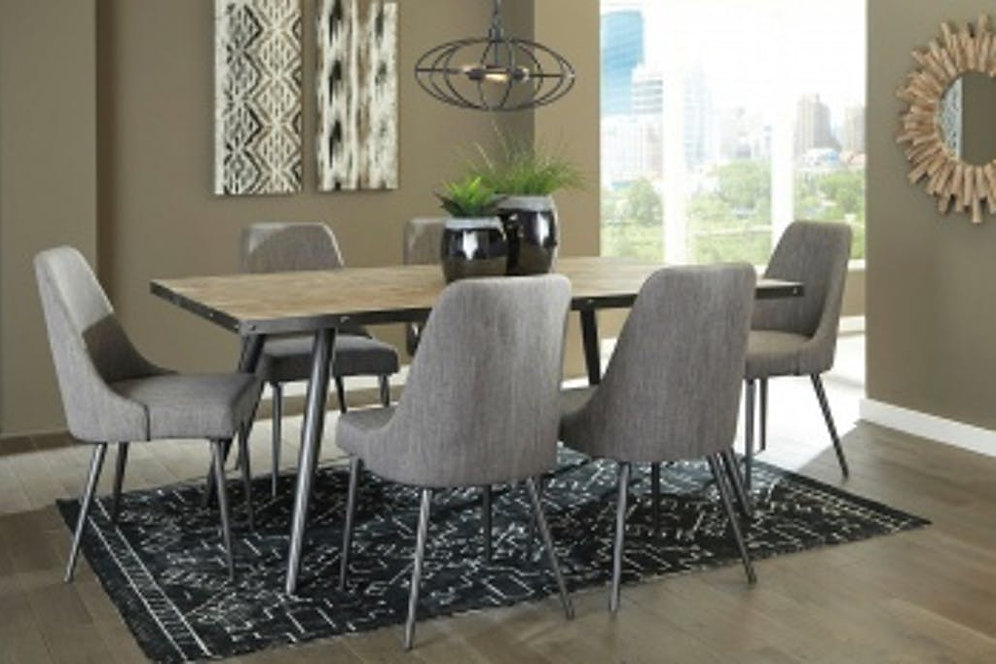 Coverty Dining Room Table with 6 chairs