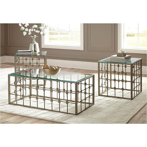 Berrilyn 3pc Occasional Table Set