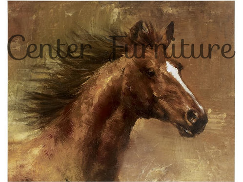 Horse Head Painting