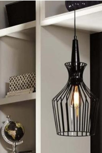 Ashley Ichiro Metal Pendant Light