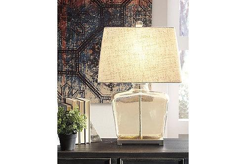 Janae Champagne Glass Lamp