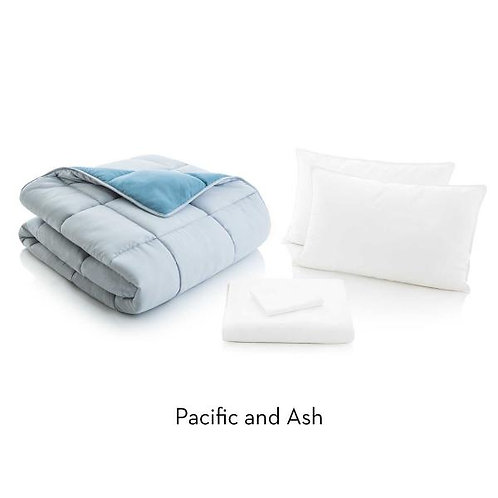Queen Pacific and Ash Bed in a Bag