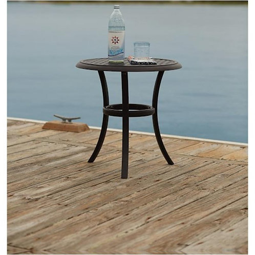 Round Metal Outdoor Side Table