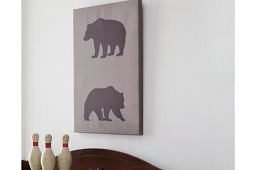Two Bears Wall Art