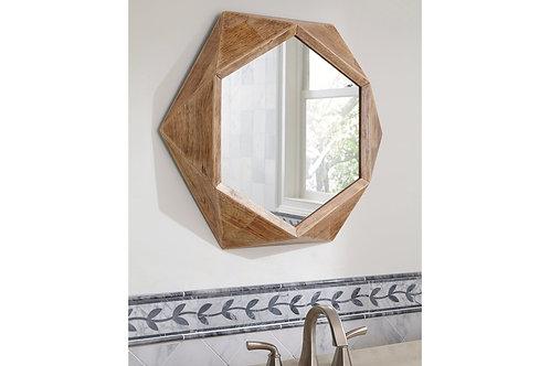 Natural Hexagon 3D Mirror