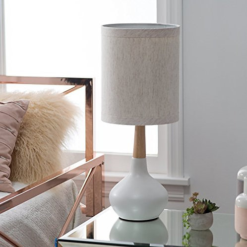 White and Natural Tone Lamp
