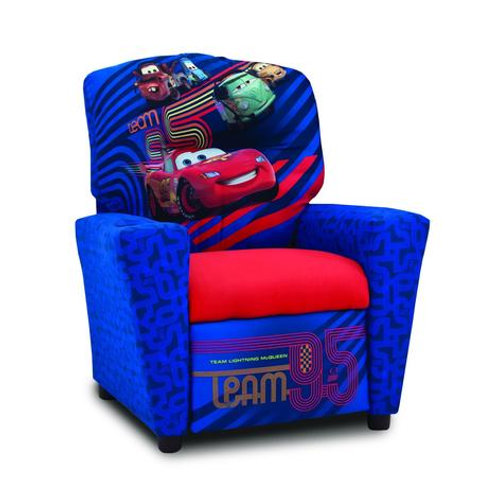 Lightening McQueen and Friends Kid's Recliner