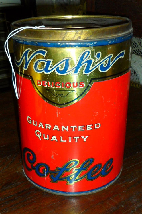 Nashs Coffee Tin
