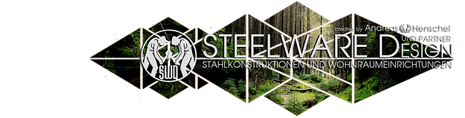 Steelware Design Logo green wood klein.p