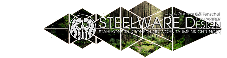 Steelware Design Logo green wood klein.p