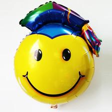 smile μπαλόνι με καπέλο για αποφοίτησης
