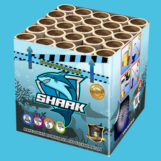 SHARK Πυροτεχνήματα 25 βολών