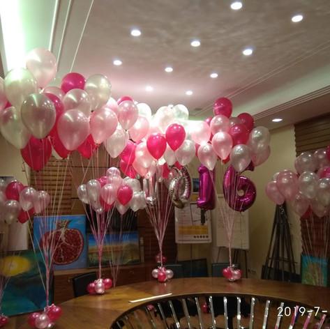 Τούφες μπαλονιών