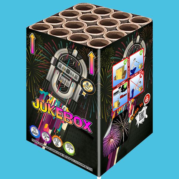 Jukebox Πυροτεχνήματα  16 βολών