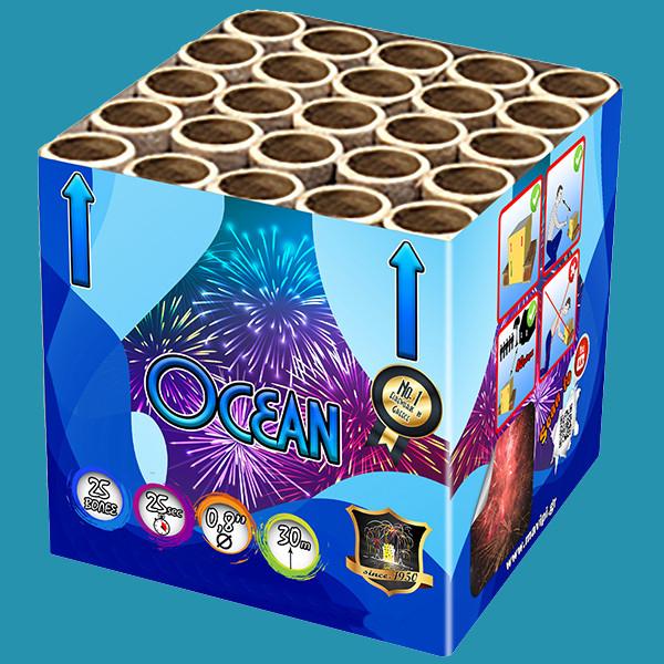 Ocean Πυροτεχνήματα 25 βολών