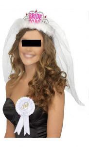 Τιάρα 'Bride to be'