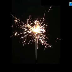 Gold sparklers (10τεμ)