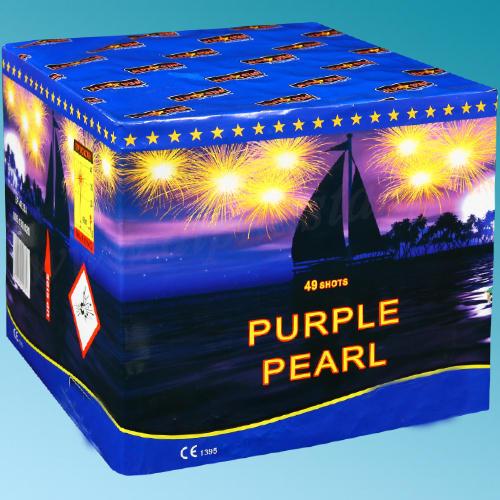 purple pearl Πυροτεχνήματα 49 Βολών