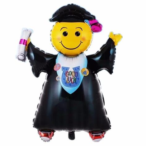 Καλή τύχη μπαλόνι αποφοίτηση