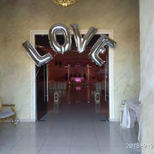 """Μπαλόνια """"love"""""""