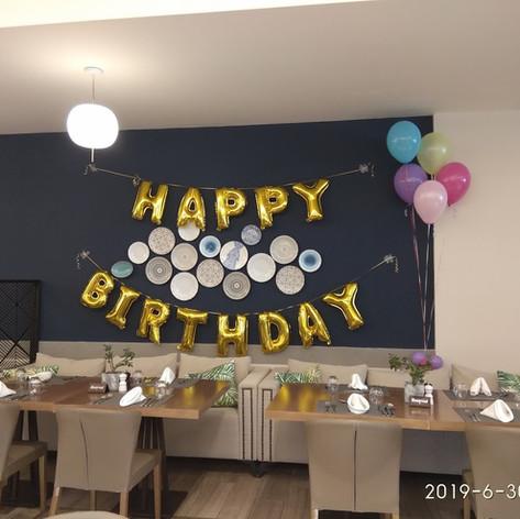 Γιρλάντα Γράμματα Happy Birthday