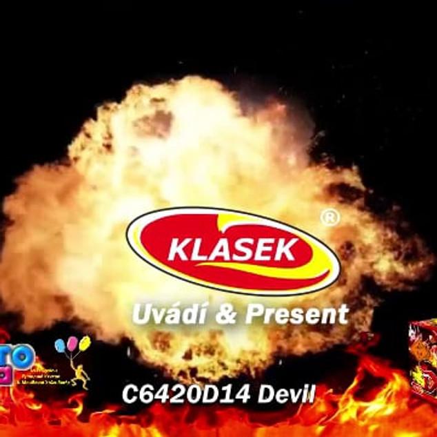 Klasek Devil Πυροτεχνήματα 64 βολών